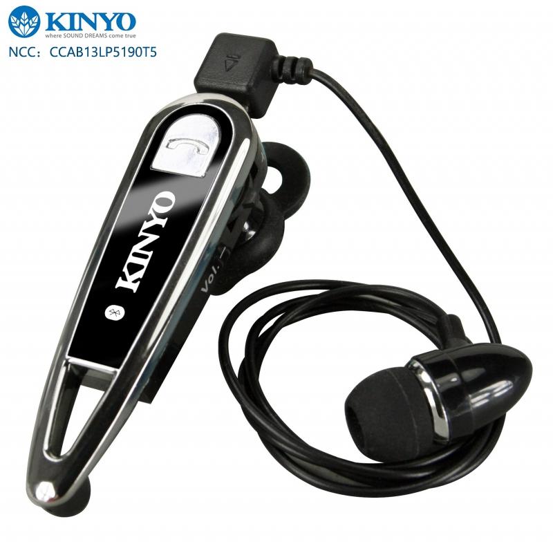 KINYO 耐嘉 BTE-3635 藍芽耳機/耳塞式/多功能/麥克風/立體聲耳機/一對二/領夾式耳機/APPLE iphone 6 plus/6/5S HTC One E9/M9/M8/Desire ..