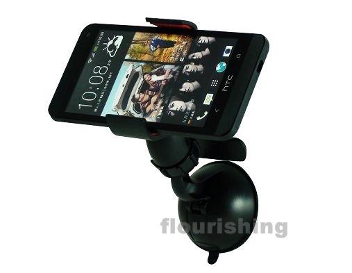 萬用車架/通用車架/導航支架/夾式手機架/影片架 油壓超強固定吸盤 iPhone 4S HTC XL X315E G21 Sony LT26i