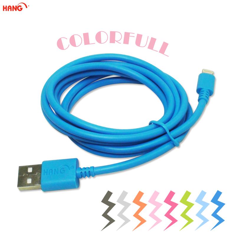 HANG Apple iPhone 5 高速數據充電線/ 8pin Lightning USB /數據線/傳輸線 / iPhone 5S/ iPhone 5C/iPhone 6 Plus/6S