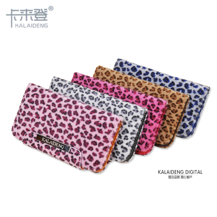 KALAIDENG 卡來登 Apple iPhone 4S/iPhone4 韓式 豹紋 高質感多功能側翻皮套/站立式/支架式皮套/側開皮套/韓式皮包/可放卡片