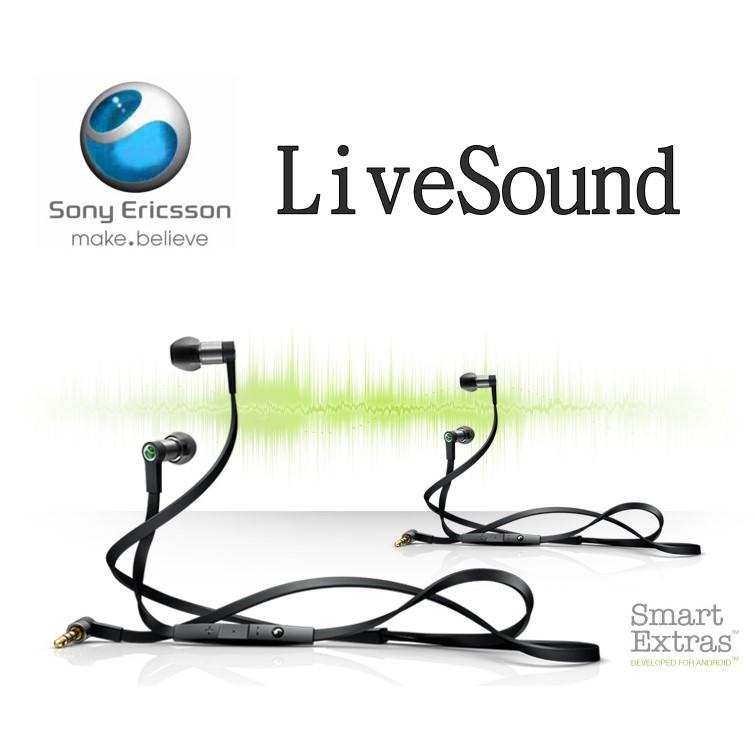 Sony Ericsson LiveSound 立體聲原廠耳機 Hi-Fi 線控耳機 MH-1/MH1 (3.5mm)(裸裝) ST17i/Play MT16i/MT15i/NEO V MT11i/C..