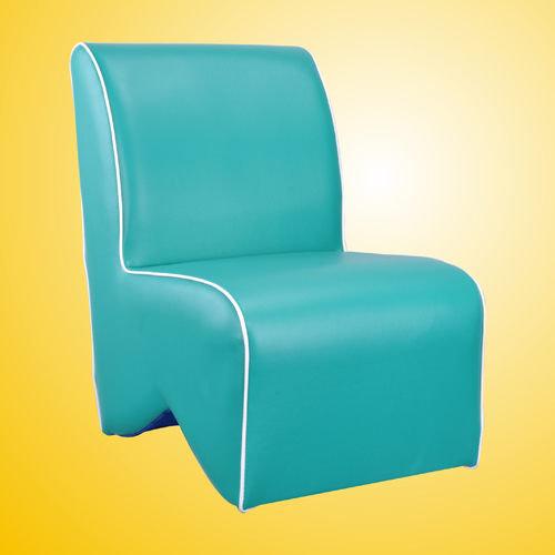 生活大發現-莎菲大造型椅(綠)/單人沙發/沙發矮凳/皮沙發