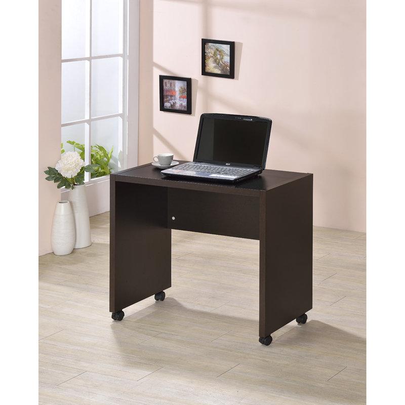 生活大發現-優質DIY-簡約電腦桌-小/書桌/工作桌/胡桃下標區