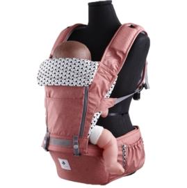 *babygo*韓國 Pognae-No.5超輕量機能坐墊型揹巾【紐約紅 】POG511004