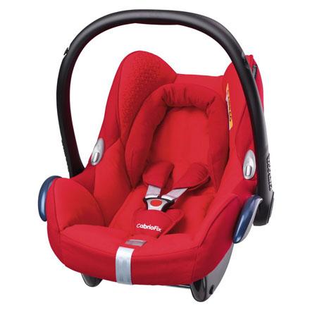 *babygo*2016年 新上市!Maxi-cosi Cabriofix 新生兒提籃汽車安全座椅(頂級款)【火焰紅】