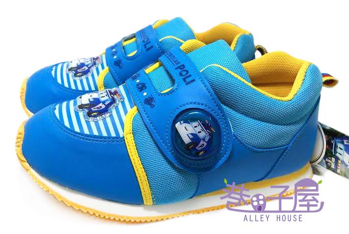 【巷子屋】POLI 波力 男童電燈造型復古運動鞋 [41916] 藍 MIT台灣製造 超值價$198