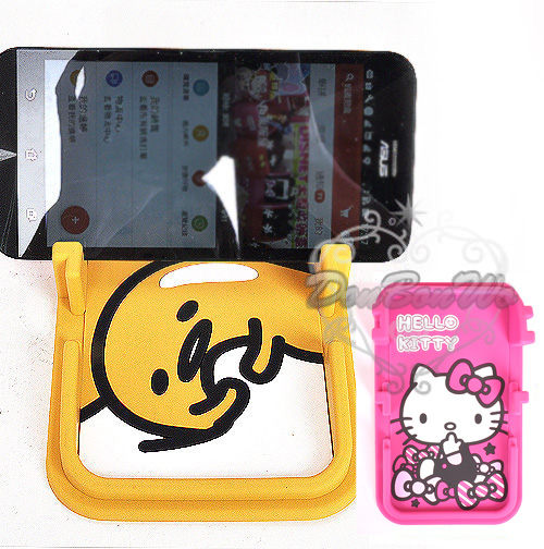 kitty蛋黃哥平板手機架收納賴床646706揉眼646713凱紅646737海渡