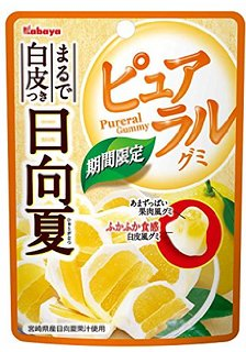 Kabaya卡巴日向夏柑橘果實QQ糖(45g)