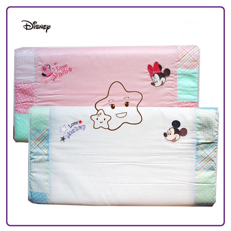 【大成婦嬰】Disney 迪士尼 米奇、米妮 健康乳膠枕(26002) 嬰童乳膠枕