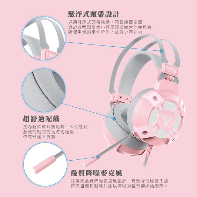 頭帶採用懸浮式設計可確保重量平均分配,配合各種頭型大小調整至適合角度,並有效減少壓迫感。