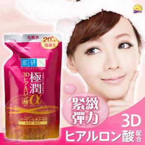 日本 ROHTO 肌研新極潤α緊緻彈力保濕化妝水補充包170ml