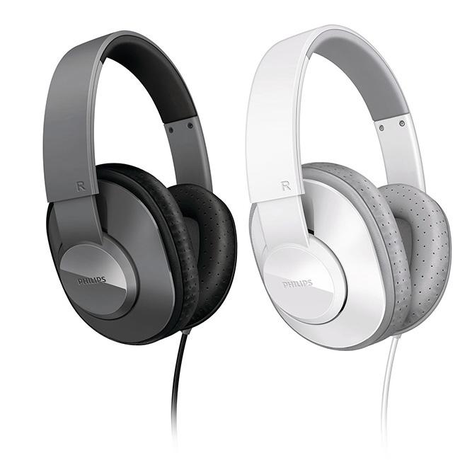 PHILIPS 飛利浦 SHL4500 輕量型 頭戴全罩式耳機 (附收納袋)