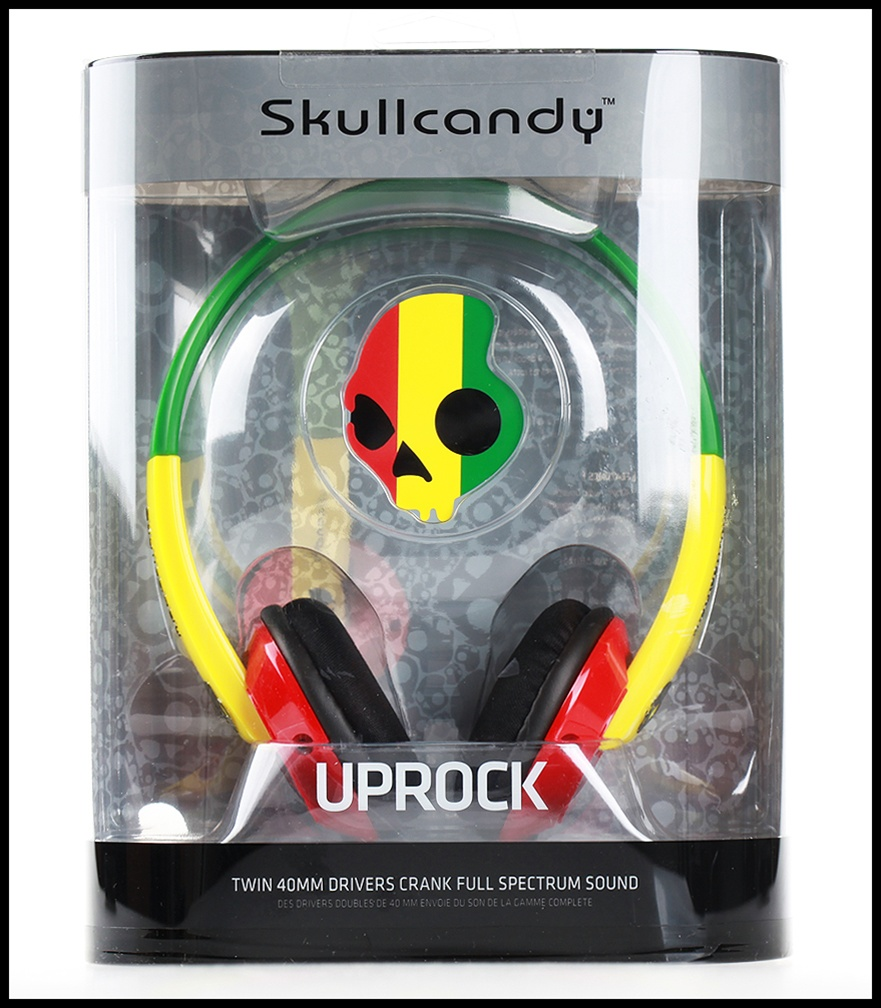 skullcandy UPROCK (綠色) 新款造型彩殼,扁平耳機潮流 頭戴耳罩式耳機,公司貨