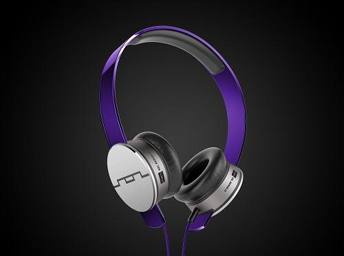 美國 SOL REPUBLIC Tracks HD V10 (紫色) 頭戴耳罩式耳機, 公司貨保固