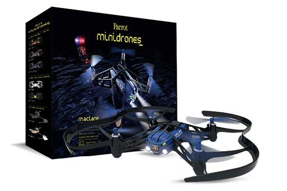 *╯新風尚潮流╭* Airborne Night Drone 智能 遙控飛機 藍 Parrot-AirNight-B