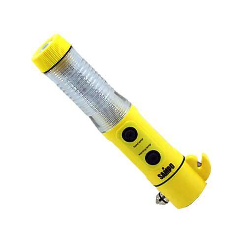 SAMPO 聲寶 多用途 磁鐵 閃光警示燈 擊破錘 小刀片 手電筒 (LF-R709EL)