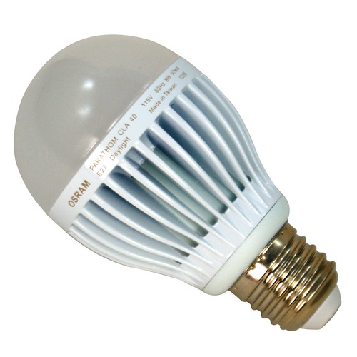 OSRAM 歐司朗 8W LED燈泡 110V E27燈頭 (白光)SH