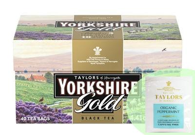 Yorkshire約克郡 皇家紅茶+Taylors泰勒 天然薄荷茶