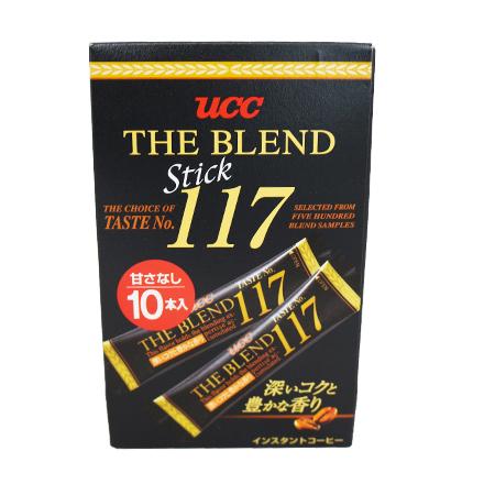 [敵富朗超市]UCC上島咖啡117隨身包咖啡