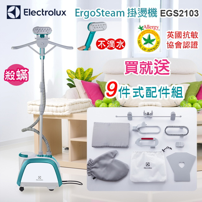 EGS2103 Electrolux 伊萊克斯 ErgoSteam掛燙機