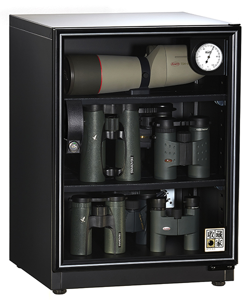 【收藏家】68 公升全功能收納三層式電子防潮箱 AD-72