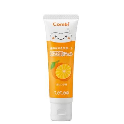 日本【Combi 康貝】teteo 幼童含氟牙膏(橘子)