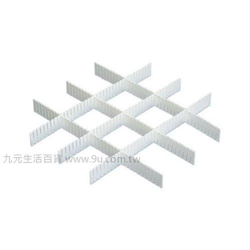【九元生活百貨】聯府 P5-0024 4公分抽屜隔板(6入) P50024
