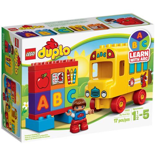 樂高積木LEGO《 LT10603 》2015 年Duplo 得寶幼兒系列 - 我的第一輛巴士