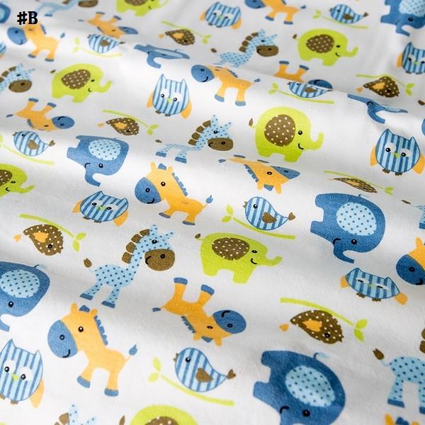 嬰兒【精梳棉】床包。嬰兒床單。嬰兒床罩-B