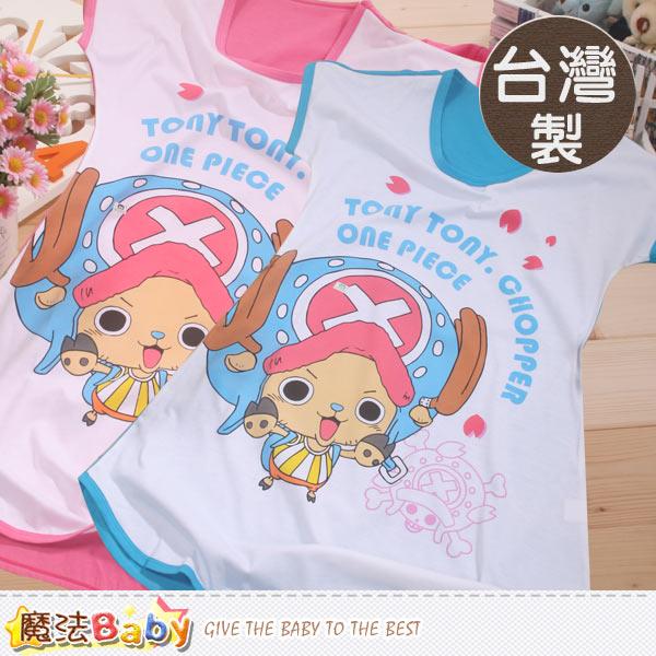 台灣製航海王授權正版大女童連衣裙 魔法Baby~k41705