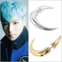 | Star World。Earring | BIGBANG TOP 同款牛角造型長彎角耳環 (單支價)