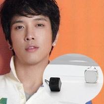 | Star World。Earring | CNBlue 鄭容和 同款黑立方體白方塊組合耳釘耳環 (單支價)