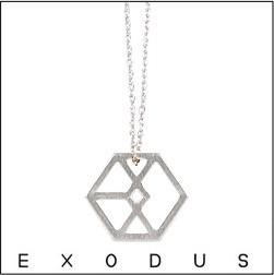 EXO EXODUS 標誌項鍊