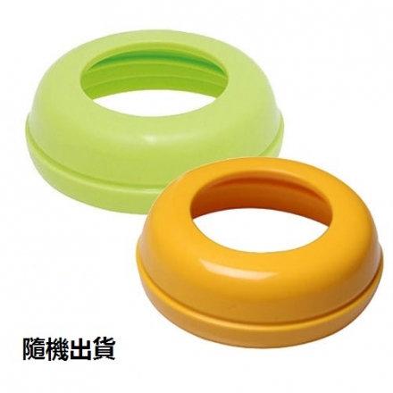 貝親寬口母乳實感奶瓶栓(橘/綠) 顏色隨機出貨【六甲媽咪】