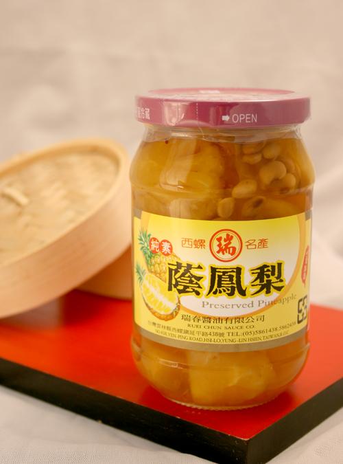 【瑞春醬油】蔭鳳梨