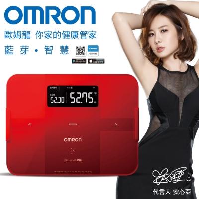【醫康生活家】OMRON歐姆龍藍芽智慧體重體脂計HBF-254C(2色可選)(需訂購請電洽)