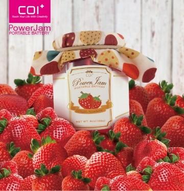 【COI+】PowerJam 果醬罐6000mAh行動電源 草莓果醬款【葳豐數位商城】