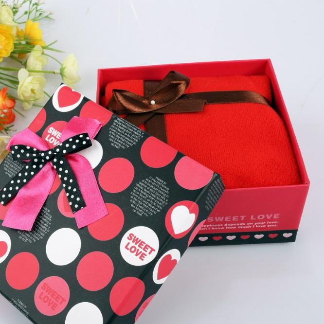創意小毛巾禮盒手帕-精緻結婚禮品精選情人節生日禮物生活用品3色73ja32【獨家進口】【米蘭精品】