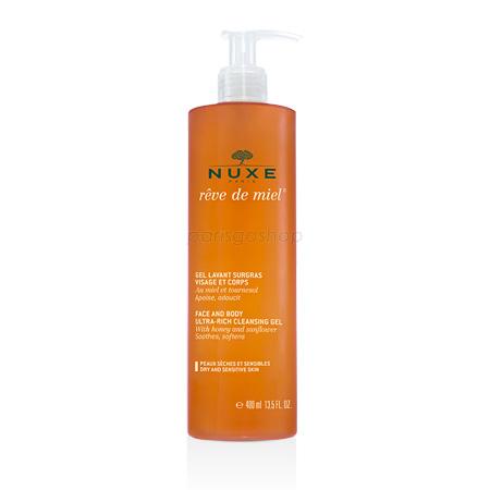Nuxe 歐樹 蜂蜜全效溫和潔膚凝膠 400 ml【巴黎好購】