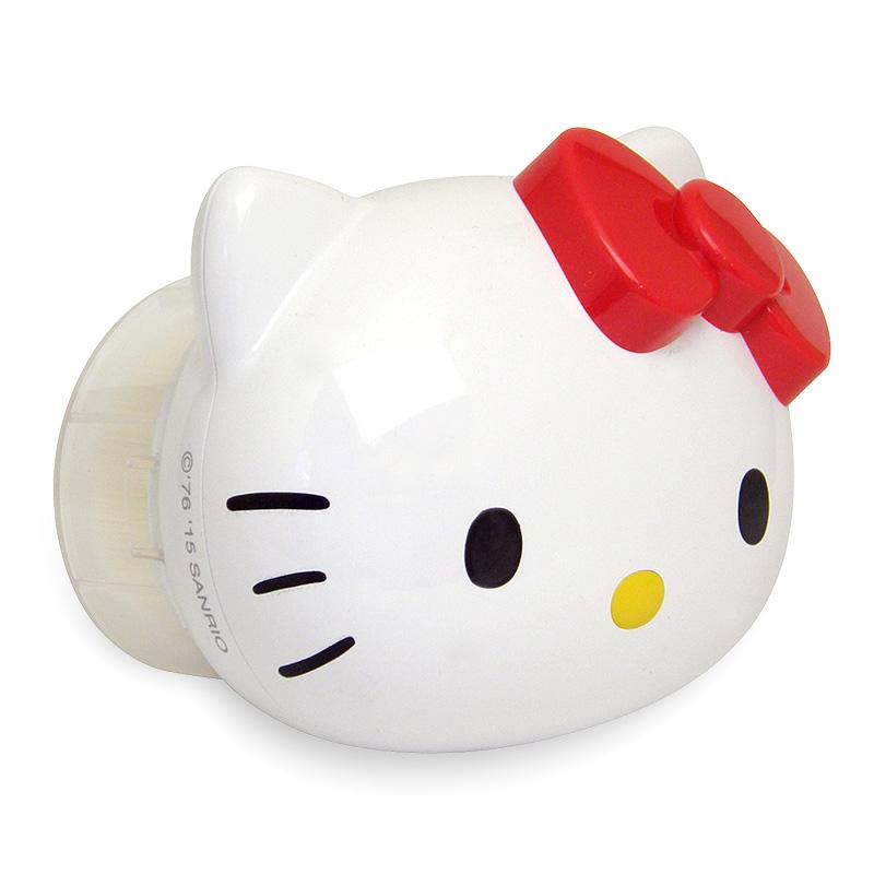 【真愛日本】16052500003深層清潔臉刷-KT大頭紅結  三麗鷗 Hello Kitty 凱蒂貓 洗臉機 粉刺刷 正品 預購