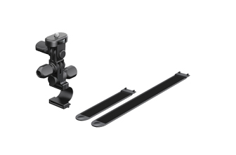 SONY 固定管架 VCT-RBM1 專用 Action cam 隨附的兩種束帶可以適用在不同直徑大小的管子上