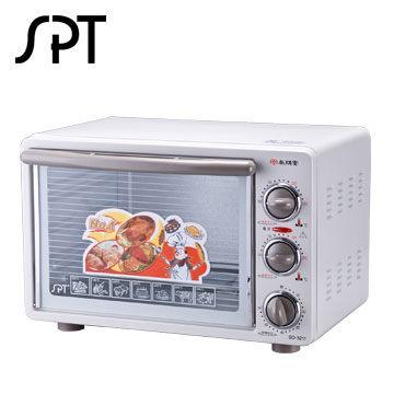尚朋堂 21公升專業用雙溫控烤箱 SO-3211 100~250度可調控溫度範圍 上、下管、溫度獨立調整  60分鐘時間開關