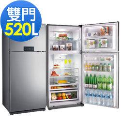 TECO東元 R5210S 520公升數位雙門電冰箱數位溫度觸控/新環保冷媒