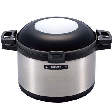 TIGER 虎牌 真空保溫調理燜燒鍋 NFI-A800 內鍋可使用於電磁爐∕瓦斯爐上加熱