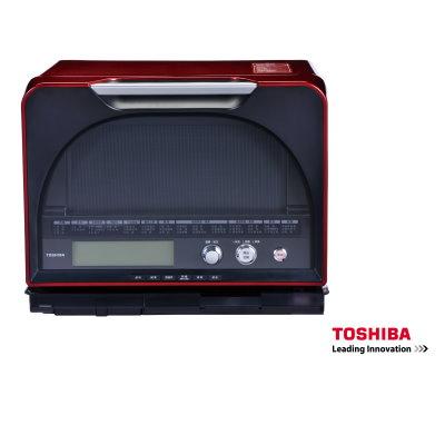 TOSHIBA 東芝 31公升 過熱水蒸氣烘烤微波爐 ER-GD400GN ★爐內仿石窯造型設計,食材受熱更均勻