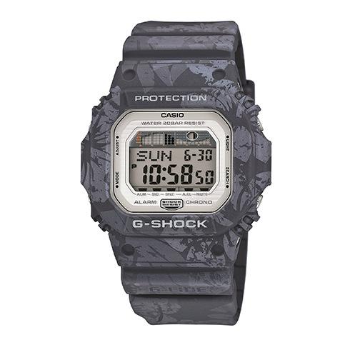 CASIO G-SHOCK GLX-5600F-1質感灰扶桑花腕錶/46*43mm