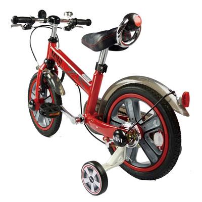 【悅兒樂婦幼用品?】MINI COOPER 兒童14吋腳踏車(紅色) - RSZ1401