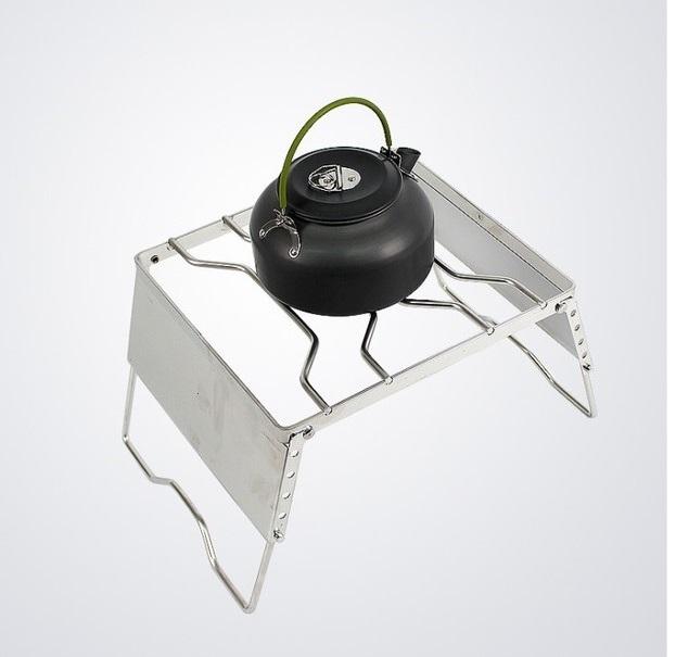 【露營趣】中和 TNR-210 五段不鏽鋼萬用爐架 萬用鍋架 卡式瓦斯爐加高爐架 承重鍋架