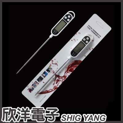 ※ 欣洋電子 ※ 食品電子溫度計 金屬探針式 (KT-300) / 廚房料理用烹調、油溫、液體