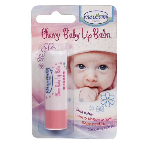 『121婦嬰用品館』貝恩 嬰兒櫻桃修護唇膏4.5g